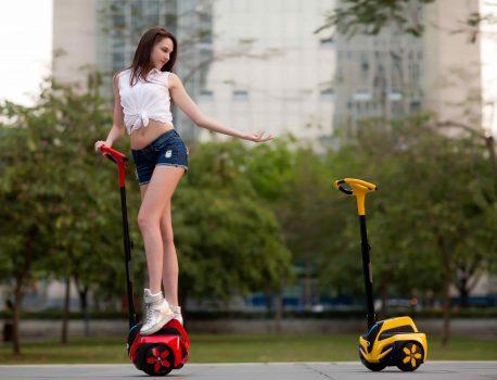 移動支援ロボット『INMOTION』試乗体験