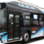 燃料電池バス(2017年11月撮影)