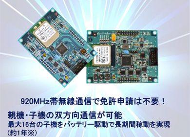 バックス無線双方向通信方式を利用したセンサーネットワークシステム