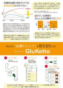 GluKettoパンフレット