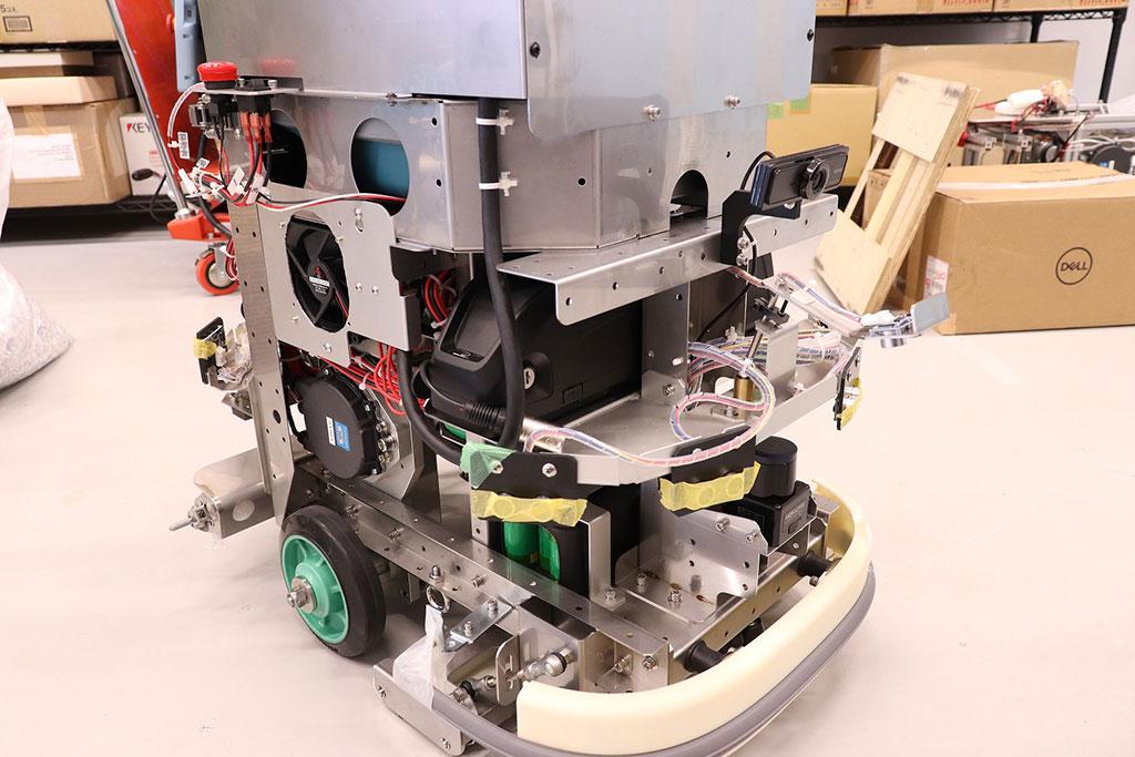 自律移動ロボット試作開発例